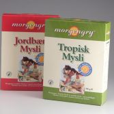 Emballagedesign private label Morgengry muesli Dansk Supermarked Packaging Design