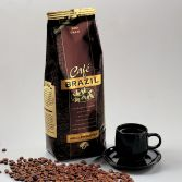 Emballagedesign private label Cafe Brazil kaffe Dansk Supermarked Packaging Design