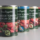 Emballagedesign private label Bon Appetit specialiteter Dansk Supermarked Packaging Design