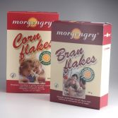 Emballagedesign private label Morgengry morgenmad Dansk Supermarked Packaging Design