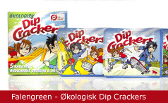Emballagedesign Falengreen Dip Crackers Packaging Design