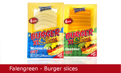 Emballagedesign Falengreen Burger Slices Packaging Design