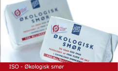Emballagedesign ISO Smør Økologi Packaging Design