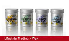 Emballagedesign Lifestyle Trading Hairdo wax Packaging Design