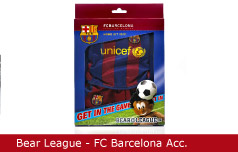 Emballagedesign Bear League FC Barcelona Acc Packaging Design