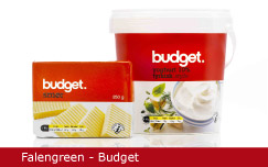 Emballagedesign Falengreen Budget Dansk Supermarked Packaging Design