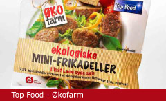 Emballagedesign Top Food Frikadeller Økologi Packaging Design