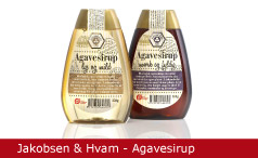 Emballagedesign Jakobsen Hvam Agavesirup Økologi Packaging Design