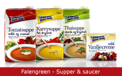 Emballagedesign Falengreen  - Supper og Saucer - Packaging Design