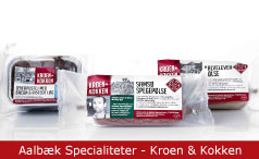 Emballagedesign Aalbæk Specialiteter - Kroen & Kokken Packaging Design