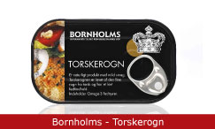Emballagedesign Bornholms - Torskerogn Packaging Design