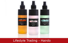 Emballagedesign Lifestyle Trading - Hairdo - Packaging Design