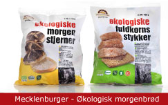 Emballagedesign Mecklenburger - Økologisk morgenbrød - Packaging Design