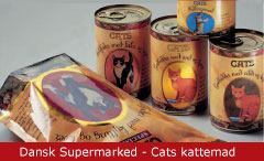 Emballagedesign Dansk Supermarked - Cats kattemad - Packaging Design