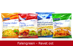 Emballagedesign Falengreen Revet ost Packaging Design